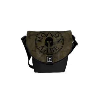 Molon Labe, Come and Take Them Messenger Bags