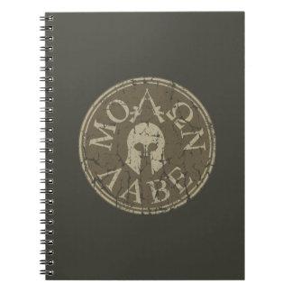 Molon Labe, Come and Take Them Note Books