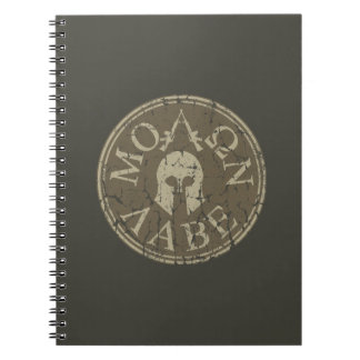 Molon Labe, Come and Take Them Notebook