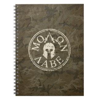 Molon Labe, Come and Take Them Notebook