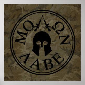 Molon Labe, Come and Take Them Poster