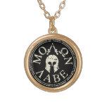 Molon Labe, Come and Take Them Round Pendant Necklace