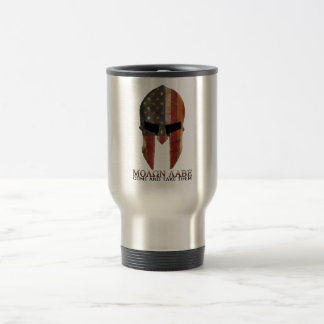 Molon Labe - Come and Take Them USA Spartan 15 Oz Stainless Steel Travel Mug
