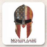 Molon Labe - Come and Take Them USA Spartan Drink Coasters