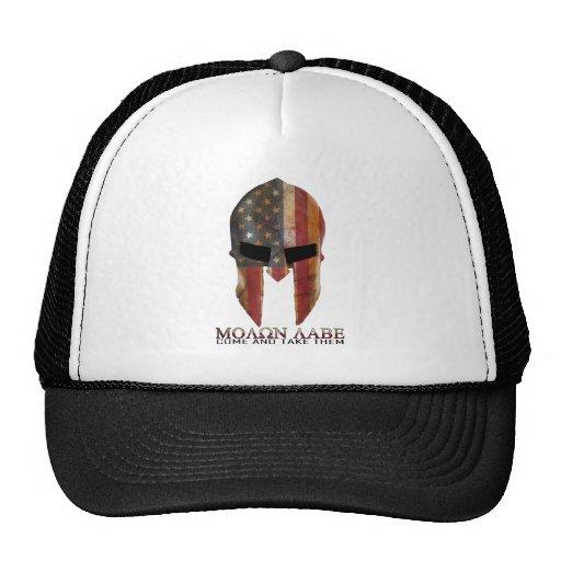 Molon Labe - Come and Take Them USA Spartan Mesh Hat