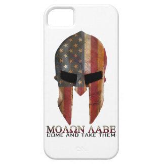 Molon Labe - Come and Take Them USA Spartan iPhone SE/5/5s Case