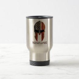 Molon Labe - Come and Take Them USA Spartan Travel Mug