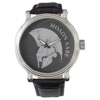 Molon Labe, come and take them vers02 Wristwatch