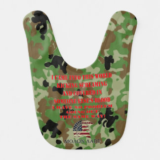 MOLON LABE, COME TAKE THEM BIB
