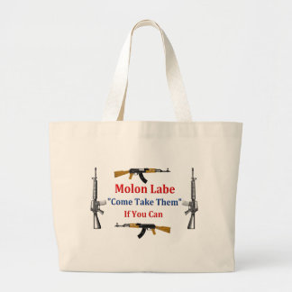 Molon Labe: Come Take Them: If You Can Bags