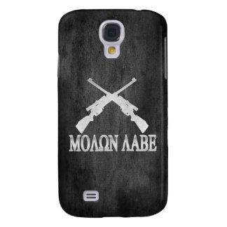 Molon Labe Crossed Rifles 2nd Amendment Samsung Galaxy S4 Case