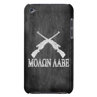 Molon Labe Crossed Rifles 2nd Amendment iPod Touch Case-Mate Case