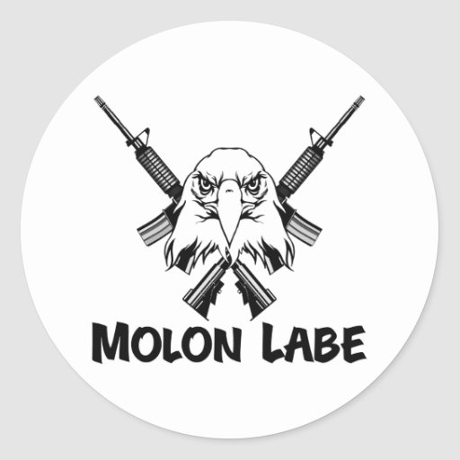 Molon Labe Eagle Pegatina
