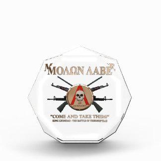 Molon Labe - escudo espartano