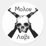Molon Labe Etiqueta