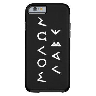 Molon Labe Funda Para iPhone 6 Tough
