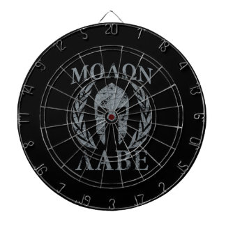 Molon Labe Grunge Spartan Armor Dartboard With Darts
