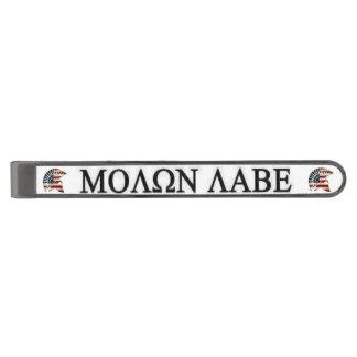 MOLON LABE GUNMETAL FINISH TIE CLIP