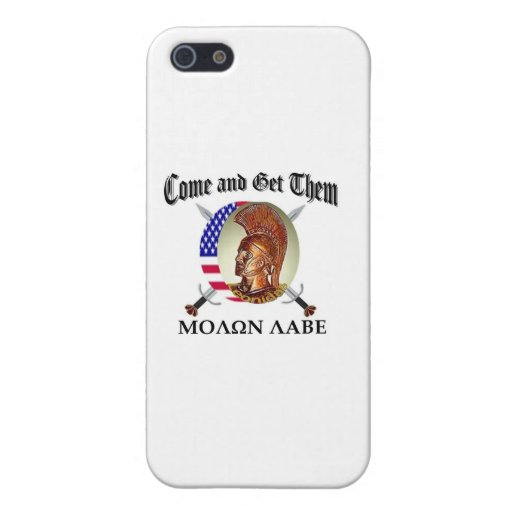 molon labe covers for iPhone 5