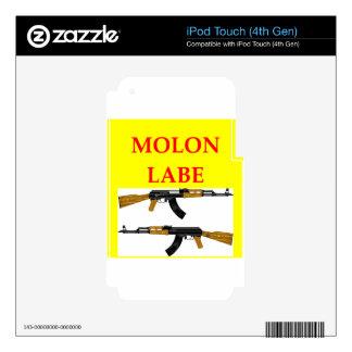 molon labe iPod touch 4G skin