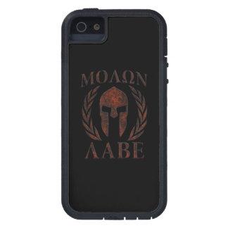 Molon Labe Iron Warrior Laurels iPhone SE/5/5s Case