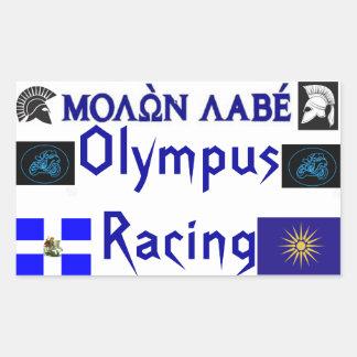 Molon Labe Olympus que compite con Sticket Rectangular Altavoz