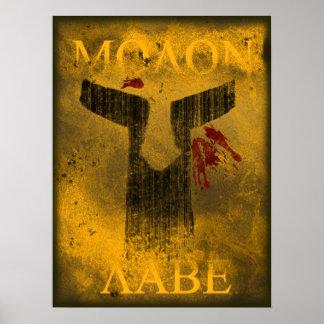 Molon Labe Posters