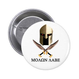 MOLON LABE PIN REDONDO DE 2 PULGADAS