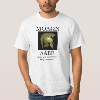 ¡Molon Labe! Playeras