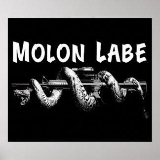 Molon Labe Poster