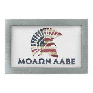 Molon Labe! Rectangular Belt Buckle