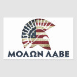 Molon Labe! Rectangular Sticker