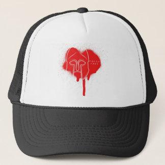 Molon Labe red hoplite hat