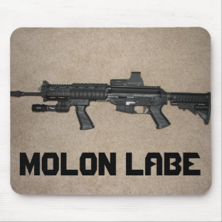Molon Labe Sig 556 Mousepad