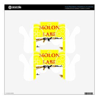 molon labe skin for PS3 controller