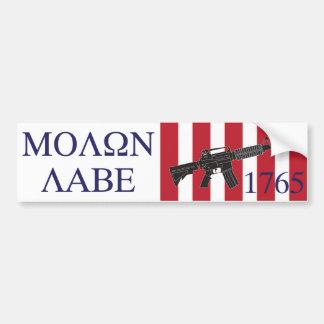 Molon Labe/Sons of Liberty Bumper Sticker Car Bumper Sticker