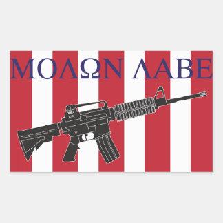 Molon Labe Sons of Liberty Sticker