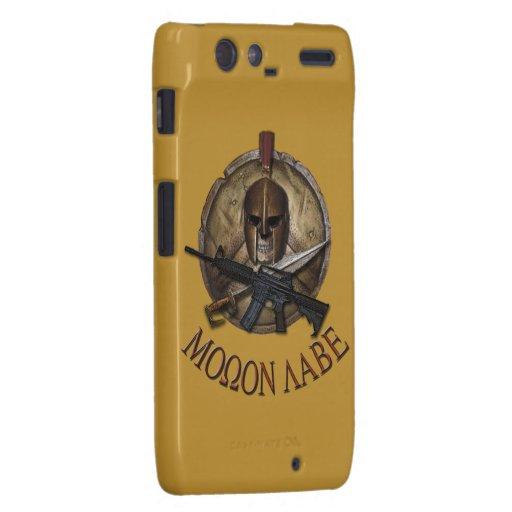 Molon Labe Spartan Droid Razr Cover