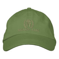 Molon Labe Spartan Helmet Laurels Embroidery Embroidered Hats