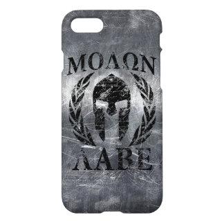 Molon Labe Spartan Helmet Laurels iPhone 7 Case