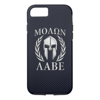 Molon Labe Spartan Helmet Laurels iPhone 8/7 Case