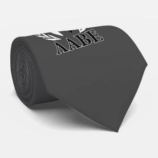 Molon Labe Spartan Helmet Laurels Monochrome Tie