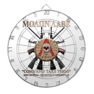 Molon Labe - Spartan Shield Dart Boards