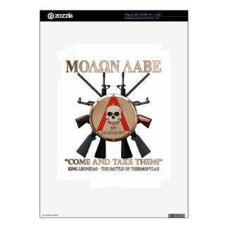 Molon Labe - Spartan Shield iPad 2 Skins