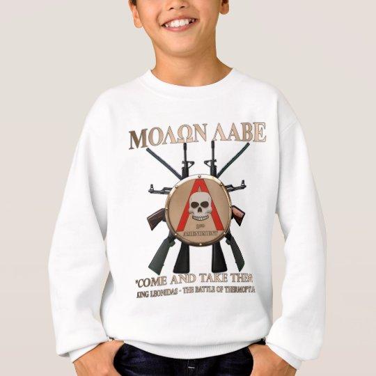 Molon Labe - Spartan Shield Sweatshirt