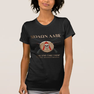Molon Labe - Spartan Shield T-Shirt