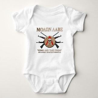 Molon Labe - Spartan Shield Tee Shirt