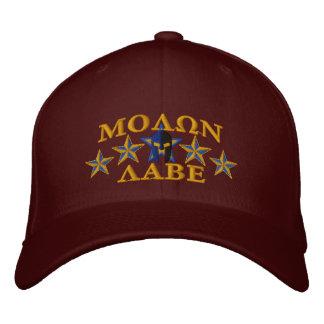 Molon Labe Spartan Warrior Five Stars Embroidered Baseball Cap