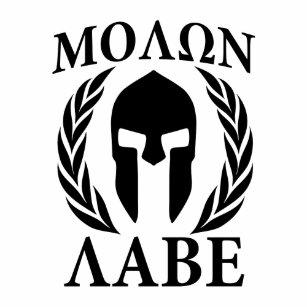 8e9e9e2301a5d Molon Labe Spartan Warrior Laurels Carbon Style Temporary Tattoos
