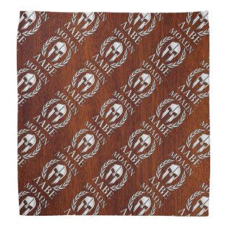 Molon Labe Spartan Warrior Laurels Chro Wood Print Bandana